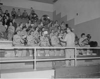 Mankato State College Pep Band, 1959-02-06.