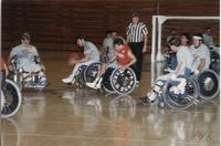 National Cerebral Palsy Games, Mankato State University, July 17th, 1989.