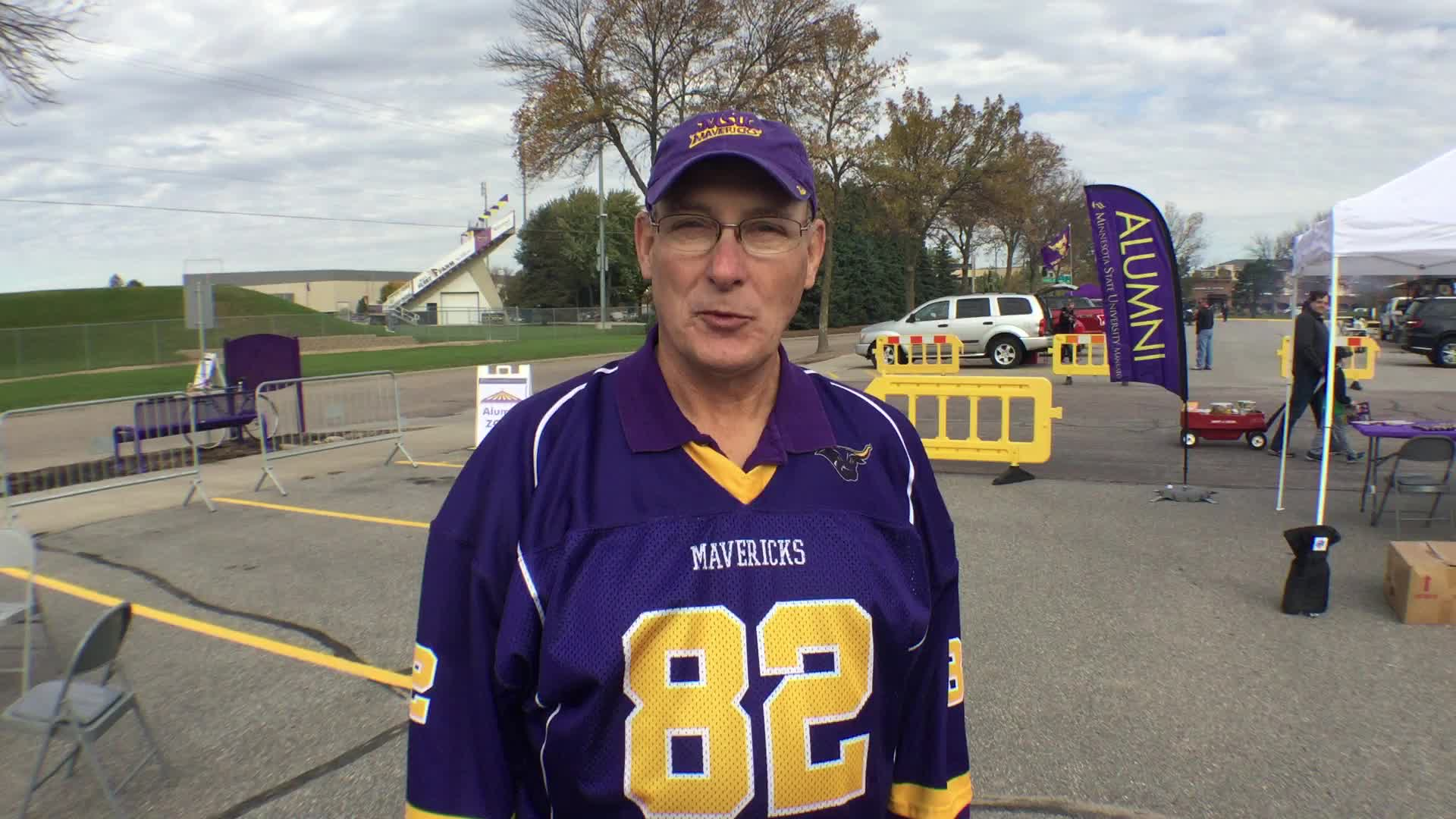 Thomas M. Roggow, St. Peter, MN - Homecoming 2016 at Minnesota State University, Mankato