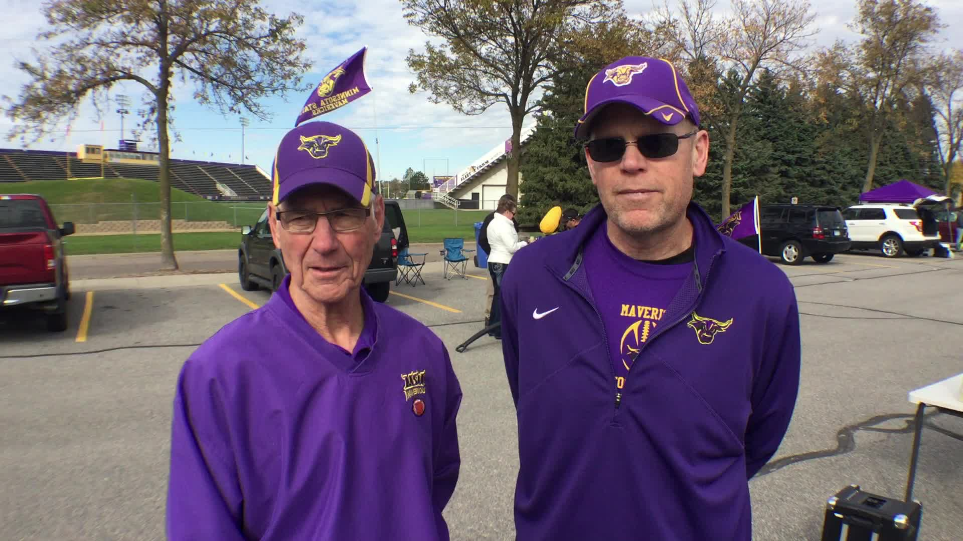 John F. Behrends and Philip W. Driscoll, Mankato, MN - Homecoming 2016 at Minnesota State University, Mankato