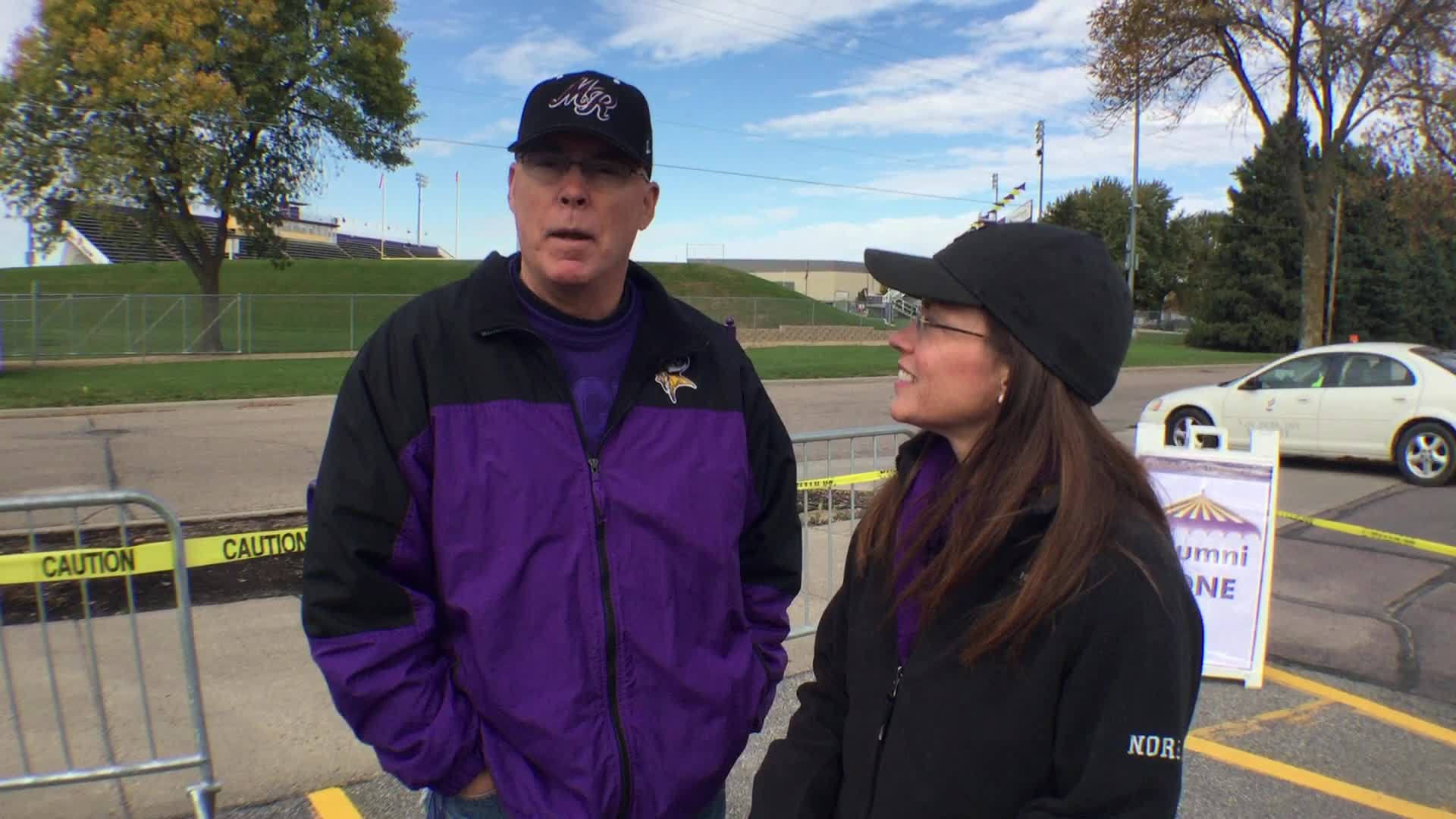 Jean Noren and Gary Noren, Mankato, MN - Homecoming 2016 at Minnesota State University, Mankato