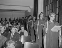 Christmas concert, Mankato State College, 1960-01-21