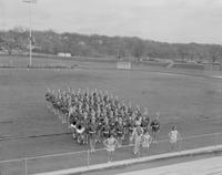 Band at Mankato State College, 1960-01-20