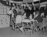 Charity Carnival implemented by French Club at Mankato State College, 1960-03-29.
