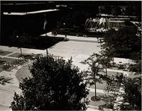 Campus Mall, Mankato State University, Late 1970s.