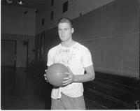 Basketball Player at Mankato State College November 18, 1958