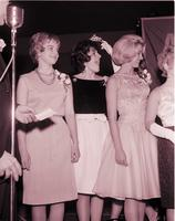 Coronation of rose at dance at Mankato State College 1963-01-16
