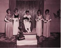 Rose dance for Delta Sigma Pi at Mankato State College 1967-01-26