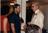 Retirement Dinner for Vic Calway (R), Mankato State University, June 29th, 1989