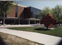 Memorial Library and the Wave, Mankato State University, May 1995