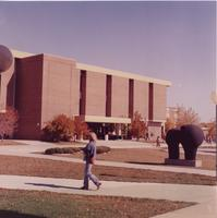 Memorial Library, Mankato State University, Late 1970s.