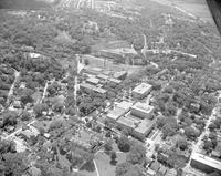 Aerial View of Mankato State College ,August 02, 1960