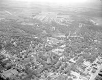 Aerial View of Mankato State College, August 02, 1960