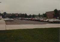 Mankato State University campus parking lot 18 next to McElroy F Hall  June 12, 1989