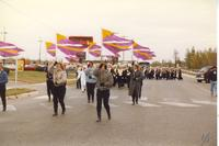 Mankato State University Homecoming Parade, 1987.