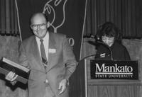 Mankato State University, Campus Campaign event, 1989