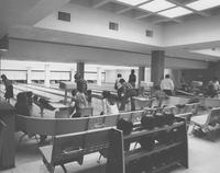 Centennial Student Union bowling Alley, Mankato State University