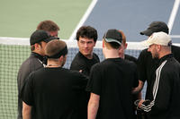 2009_Website Photos%Men's Tennis%Huddle_St._Johns