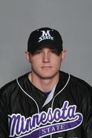 Minnesota State University, Mankato Baseball|2006 headshots|Jarchow, JJ University Athletics. Collection, 1925-Ongoing. MSU Archives Collection 26. Jarchow, JJ.JPG