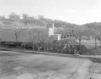 Searing Hall with new addition at Mankato State College 1958-03-31