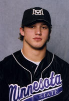 Minnesota State University, Mankato Baseball|Baseball Scans|2004 baseball headshots|bohmbach 2004 300 University Athletics. Collection, 1925-Ongoing. MSU Archives Collection 26. bohmbach 2004 300.jpg