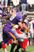 Minnesota State University, Mankato Football|2007 Football Action|Matt_McQustion_SCSU1