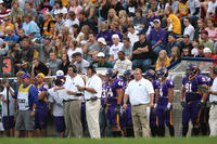 Minnesota State University, Mankato Football|2007 Football Action|Coaches_Crowd