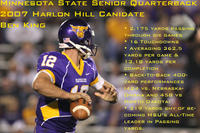 Minnesota State University, Mankato Football|2007 Football Action|King_Harlong_Promo