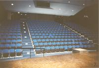 Seating in Recital Hall, Performing Arts Center, 1988, Mankato State College