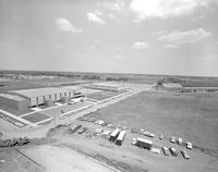 An aerial view of the highland campus at Mankato State College 1965-06-18