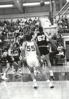 Mankato State University Men's Basketball vs. Augustana 2/13/1991.