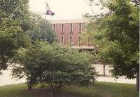 Picture of Armstrong Hall. Mankato State University, May 29, 1989.