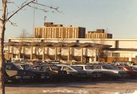 Mankato State University 1-12-1989 - Highland Arena Fieldhouse with Gage Towers in the distance.