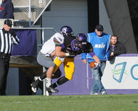 Minnesota State University, Mankato Football|2013 Action|MSU FB vs Winona State|Burns_Jeff 2013a