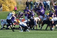 Minnesota State University, Mankato Football|2013 Action|MSU FB vs Augustana|Fieldgoal Block