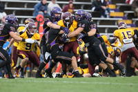 Minnesota State University, Mankato Football|2013 Action|MSU FB vs Crookston|Tackle1