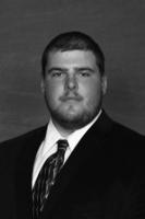 Minnesota State University, Mankato Football|2013 Head Shots|FB Head Shots B&W|Kelley, Ryan_1O0T9318