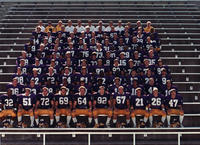 Minnesota State University, Mankato Football|football team photos|1986 MSU Football
