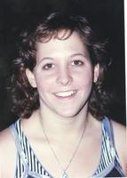 Mankato State University women's swimmer. October 9, 1990.