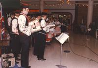 Musicians performing at the Mankato State University International Festival, 04-06-1991.