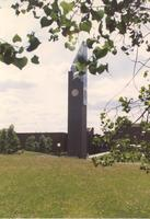 Mankato State University Ostrander- Student Memorial Bell Tower, 06-01-1989.