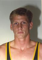 Mankato State University wrestler, October 4,1990.