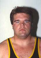 msu18034.tif Headshot of unidentified Mankato State University wrestler headshot. October 4, 1990. University Photograph Collection, 1868-ongoing.  MSU Archives 309.