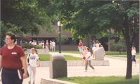 Mankato State University Campus Mall, 05-23-1989.