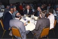 A reception at Mankato State University, 1988?.