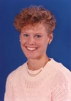 Mankato State University women's basketball player October 9, 1990.