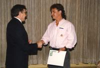 Community service award in Centennial Student Union at Mankato State University. 05-16-1989.