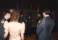 Army ROTC, Mankato State University April 21,1989.