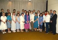 Community service award at Centennial Student Union in Mankato State University. 05-16-1989.