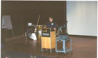 Mankato State University Building Trade Show in the Student Centennial Union Ballroom, 03-21-1989.